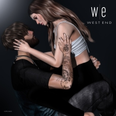 [ west end ] Bento Poses - Prelude - Couples Pose AD - 1300