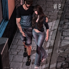 [ west end ] Bento Poses - Walk - Couples Poses AD 1300