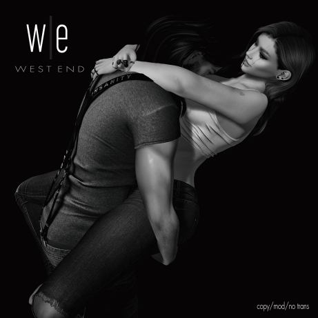 [ west end ] Poses - Let's Not Wait - Couples Pose AD