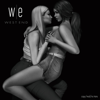 [ west end ] Poses - Out With Me - Couples Pose AD