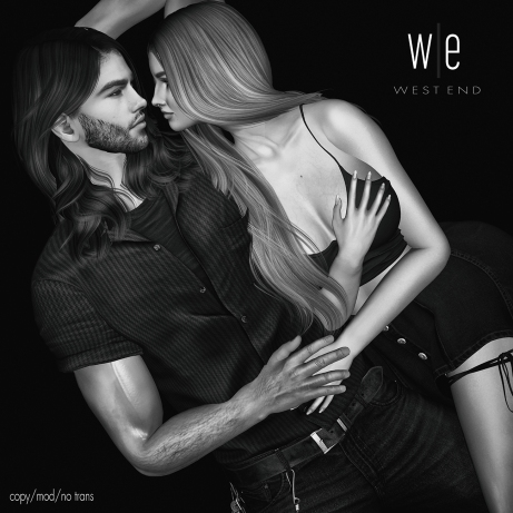 [ west end ] Poses - Quiet Moments - Couples Pose AD - 1300