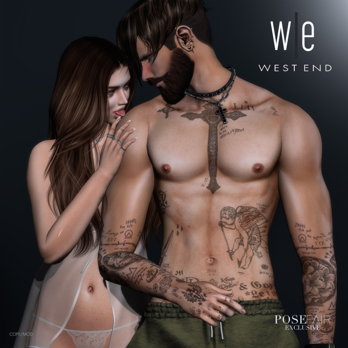 [ west end ] Bento Poses - Every Single Inch - Couples Pose AD -Exclusive 1300
