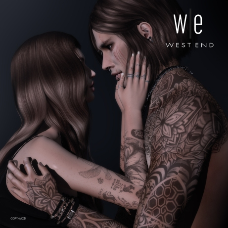 [ west end ] Bento Poses - Just the Way You Are - Couples AD2 - 1300