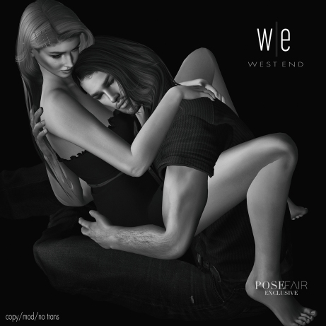 [ west end ] Poses - My Southern Comfort - Couples Pose - exclusive 1300