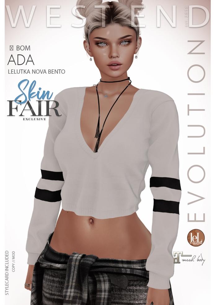 [west end ] Shapes - Ada (Lelutka Nova Evolution) AD - POSTER SKIN FAIR