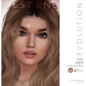[west end ] Shapes - Alex (Lelutka Nova Evolution) AD
