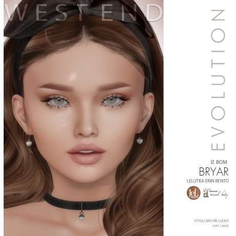 [ west end ] Shapes - Bryar (Lelutka Erin Evolution) AD