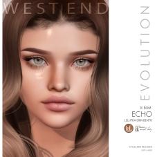 [west end ] Shapes - Echo (Lelutka Erin Evolution) AD