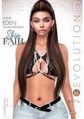 [west end ] Shapes - Eden (Lelutka Erin Bento) BOM AD - POSTER - SKIN FAIR EXCLUSIVE