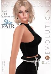 [west end ] Shapes - Jen (Lelutka Erin Bento) BOM AD - POSTER SKIN FAIR