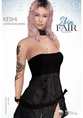 [ west end ] Shapes - Keshi (Catwa Koura Bento) AD - poster