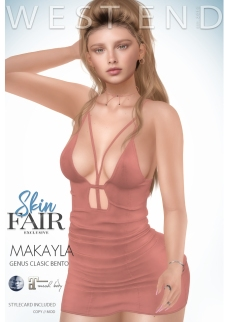 [ west end ] Shapes - Makayla (Genus Classic Bento) AD - POSTER - SKIN FAIR EXCLUSIVE