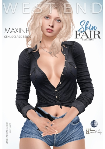 [ west end ] Shapes - Maxine (Genus Classic Bento) AD - POSTER - SKIN FAIR EXCLUSIVE