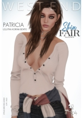 [ west end ] Shapes - Patricia (Lelutka Korina Bento) AD - POSTER SKIN FAIR