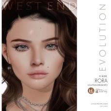 [west end ] Shapes -Rora (Lelutka Erin Evolution) AD
