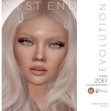 [west end ] Shapes - Zoey (Lelutka Nova Evolution) AD