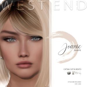[ west end ] Shapes - Joanie (Catwa Catya Bento)