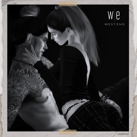 [ west end ] Bento Poses - Let Me In - Couples Pose AD4 - 1300