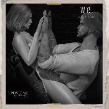 [ west end ] Bento Poses - Reflection - Couples Pose AD