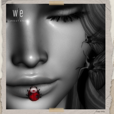 [ west end ] - Kiss of a Lady Bug - Unisex AD - 1300