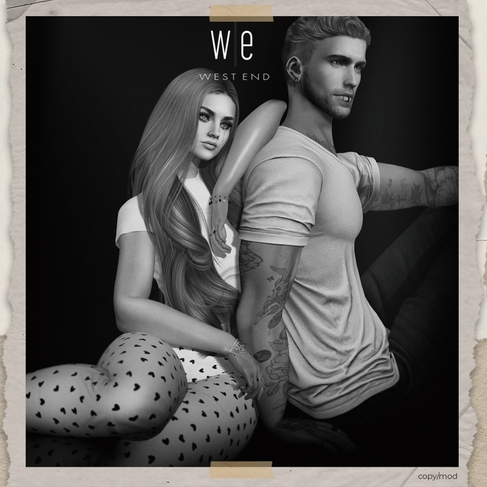 [ west end ] Poses - At Ease - Couples Pose ad