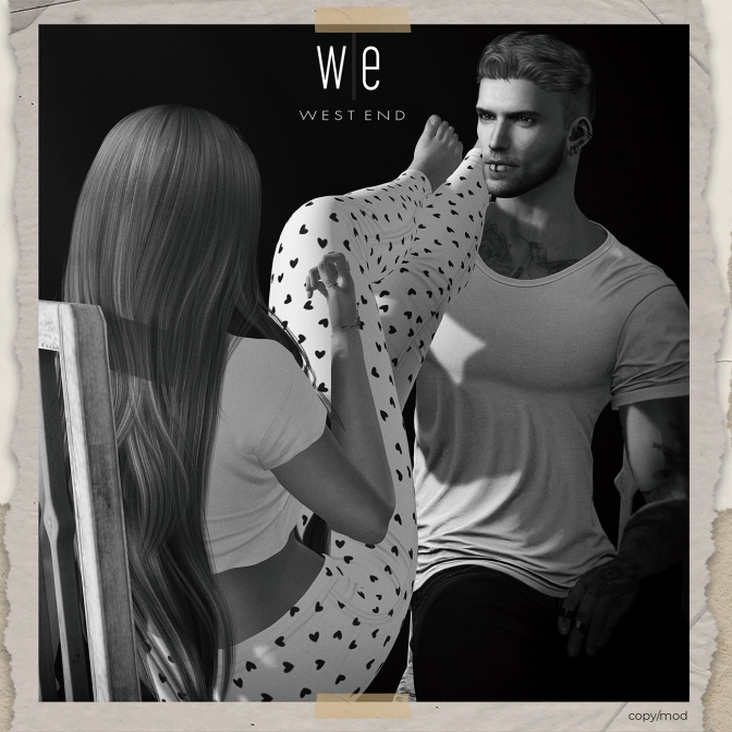 [ west end ] Poses - How It Should Be - Couples Pose ad - 1300