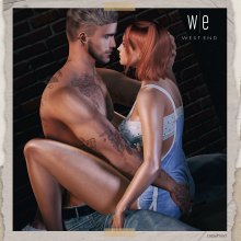[ west end ] Poses - Treasure - Couples Pose