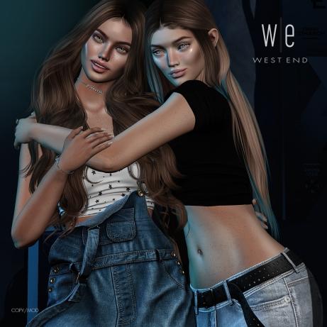 [ west end ] Bento Poses - True Friends - Friends Pose AD - 1300