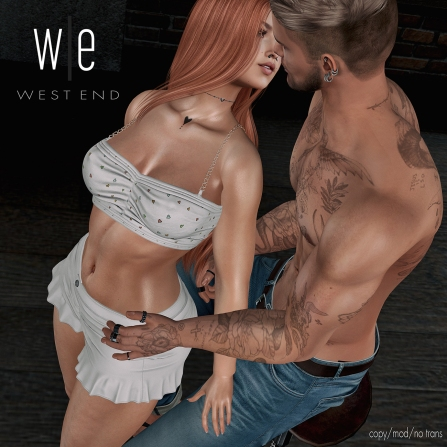 [ west end ] Poses - Need Me - Couples Pose - 1300