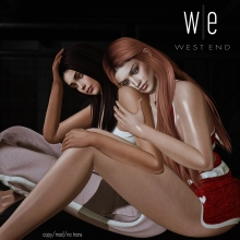 [ west end ] Poses - There For You - Friends Pose ad-1300