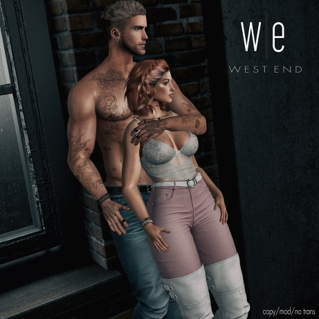 [ west end ] Poses - Watch us Shine - Couples Pose ad - 1300